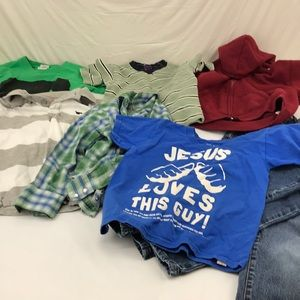 Other - 5 lb assorted lot of boys 4/5 (Small) clothing